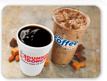 Caramel Iced  & Hot Coffee