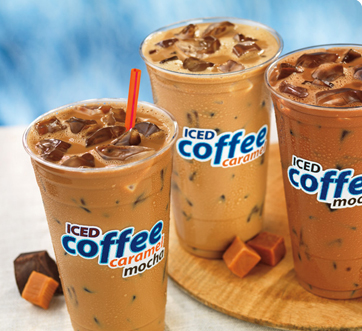 New Caramel Mocha Iced Coffee