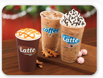 Holiday Lattes &amp; Coffees