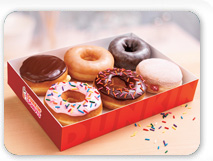 Make them smile with a dozen Dunkin' Donuts